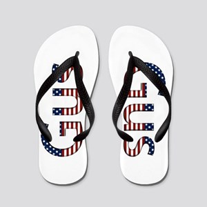 Gus Stars and Stripes Flip Flops