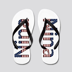 Nina Stars and Stripes Flip Flops
