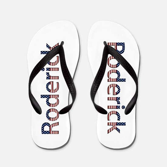 Roderick Stars and Stripes Flip Flops