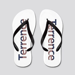 Terrence Stars and Stripes Flip Flops