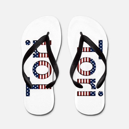 Tori Stars and Stripes Flip Flops
