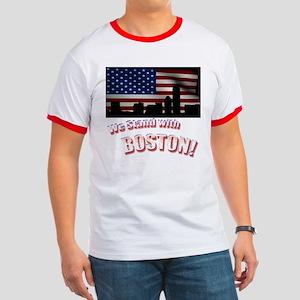 Boston Strong Ringer-T-Shirt