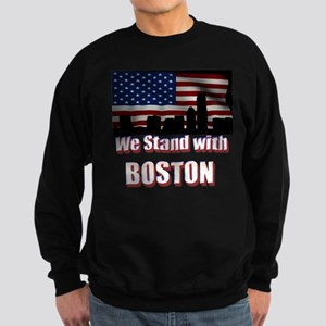 We Stand w/Boston Sweatshirt (Dark)
