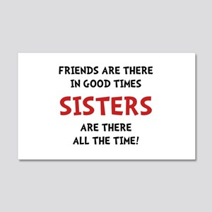Sisters Time Wall Decal