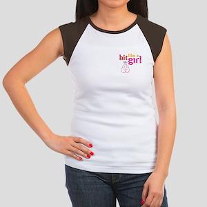 Hit Like a Girl Women's Cap Sleeve T-Shirt