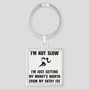 Slow Run Fee Keychains