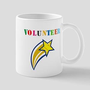 VOLUNTEER TWOSTARS DESIGN. STAR. Mug