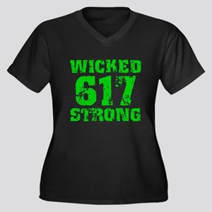 Wicked 617 Strong Plus Size T-Shirt