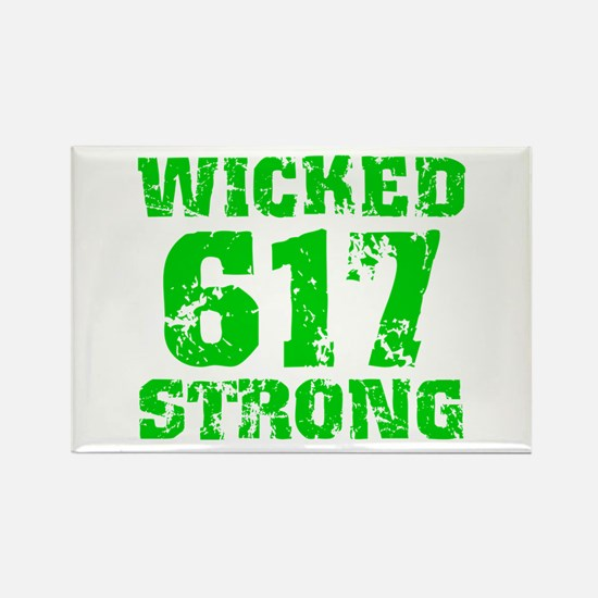 Wicked 617 Strong Rectangle Magnet