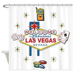 Las Vegas Shower Curtains