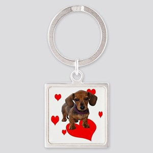 Love Dachshunds Keychains