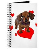 Weiner dog Journals & Spiral Notebooks