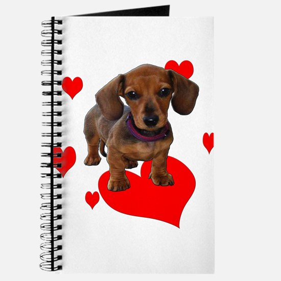 Love Dachshunds Journal
