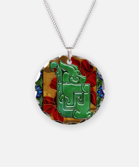 Harvest Moons Jade Dragon Necklace