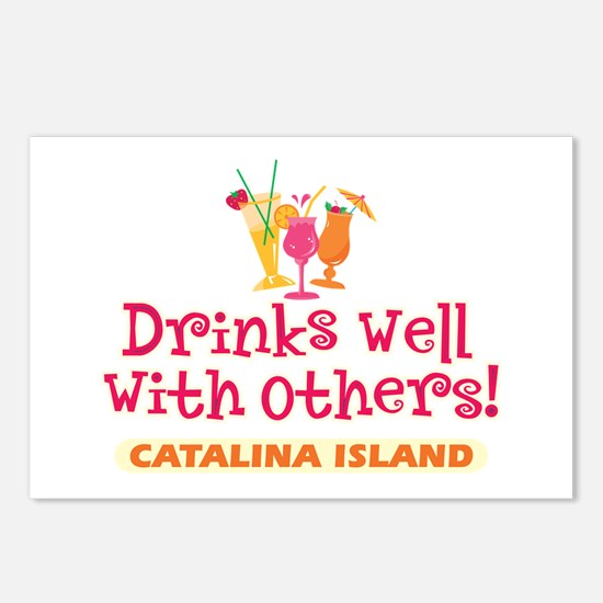 Catalina Island-Drinks Well Postcards (Package of