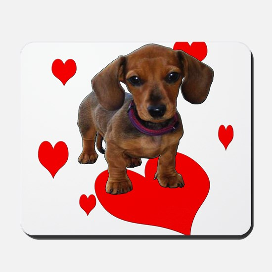 Love Dachshunds Mousepad