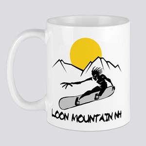 Loon Mountain Snowboarding Mug
