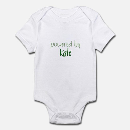 Powered By kale Infant Bodysuit