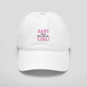 Baby Girl Great Grandpa Cap