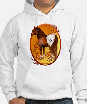Big Copper Appaloosa Oval Trans Hoodie