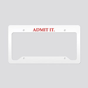 envy License Plate Holder