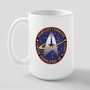 Starfleet Command Transparent, StartrekTV Mug