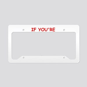 divorce License Plate Holder