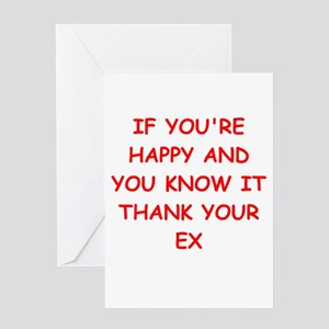 divorce Greeting Card