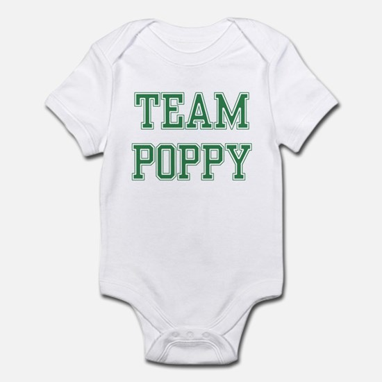 TEAM POPPY  Infant Bodysuit