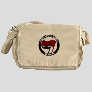 Antifa Logo Messenger Bag