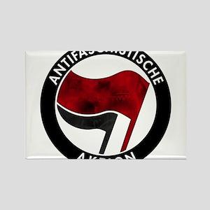 Antifa Logo Rectangle Magnet
