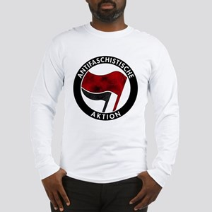 Antifa Logo Long Sleeve T-Shirt
