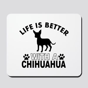 Chihuahua vector designs Mousepad