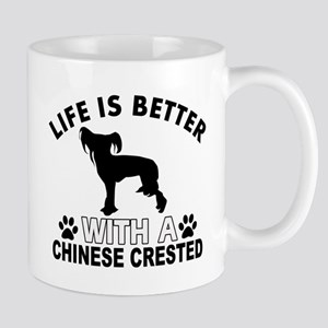 Chinese Crested vector designs Mug