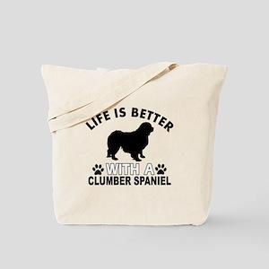 Clumber Spaniel vector designs Tote Bag