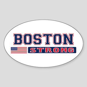 BOSTON STRONG U.S. Flag Sticker