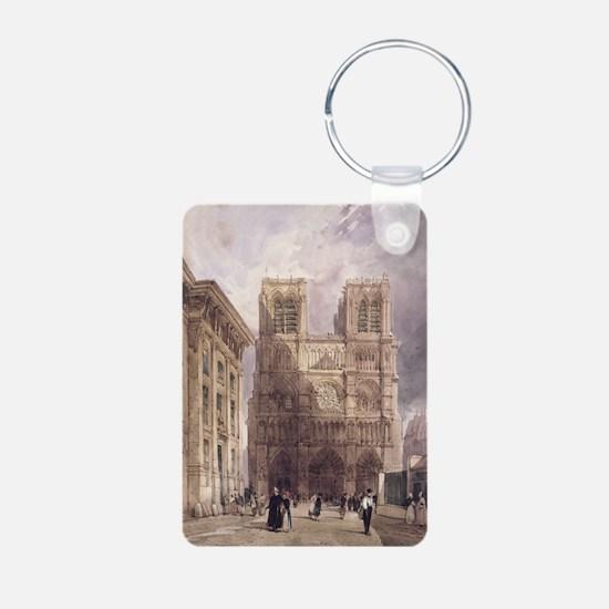 ame, Paris, 1836 - Aluminum Photo Keychain