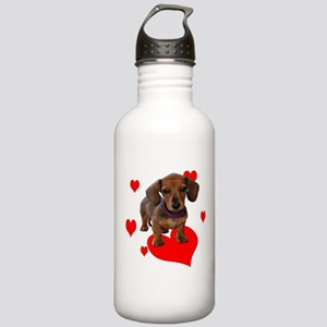 Love Dachshunds Water Bottle