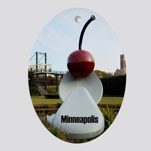 Minneapolis Ornament (Oval)