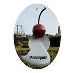Minneapolis Ornament (Oval)