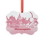 Minneapolis Picture Ornament