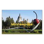 Minneapolis Sticker (Rectangle 50 pk)