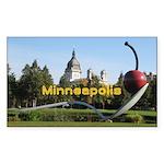 Minneapolis Sticker (Rectangle 10 pk)