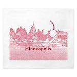 Minneapolis King Duvet