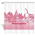 Minneapolis Shower Curtain