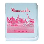 Minneapolis baby blanket