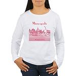 Minneapolis Women's Long Sleeve T-Shirt