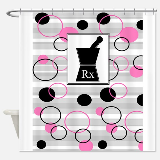 pharmacist C Shower Curtain