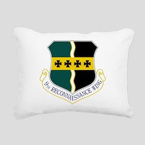 9th RW Rectangular Canvas Pillow