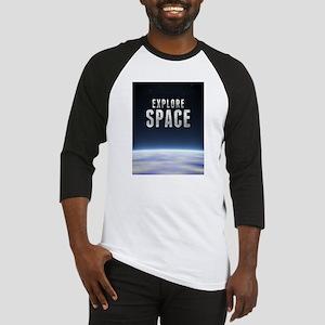 Explore Space Baseball Jersey
